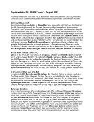 TopNewsletter Nr. 15/2007 vom 1. August 2007 - Top-Platz