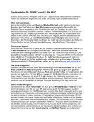 TopNewsletter Nr. 10/2007 vom 23. Mai 2007 - Top-Platz