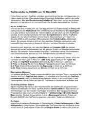 TopNewsletter Nr. 06/2008 vom 18. März 2008 - Top-Platz