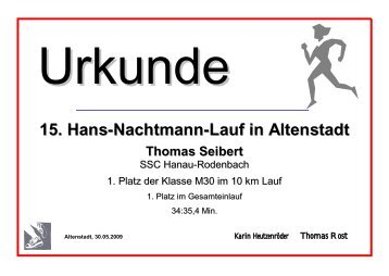 15. Hans-Nachtmann-Lauf in Altenstadt - Top-Time