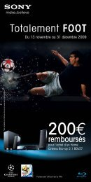 Bulletin HomeCinema 200E_OP-Noel_FOU-de ... - Top Achat