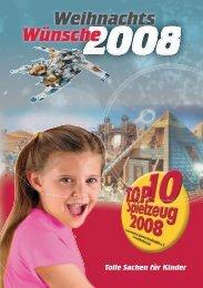 Magazin 2008 - TOP 10 Spielzeug