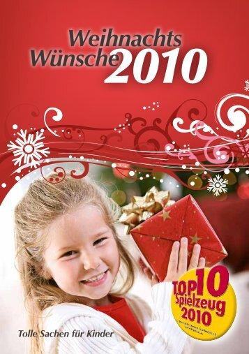 Magazin 2010 - TOP 10 Spielzeug