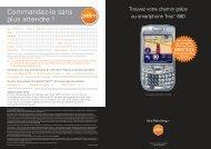 Palm Treo + GPS 4p A5 (FR) - Top Achat