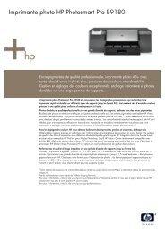 HP Inkjet Datasheet - Top Achat