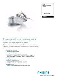 GC9040/02 Philips Centrale vapeur sous pression - Top Achat