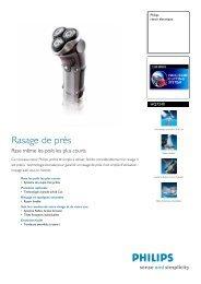 HQ7240/33 Philips rasoir électrique - Top Achat