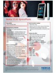 Nokia 5530 XpressMusic - Top Achat