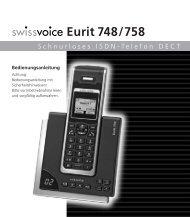 Eurit 748/758 - Strahlungsarme Telefone Esnord Gesundes ...