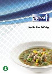 22400_kødboller_2000 g - TOP FOOD A/S