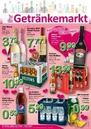 Handzettel - TOP Getränke