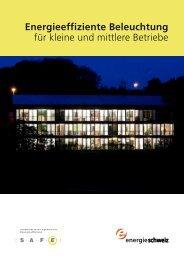 Energieeffiziente Beleuchtung für kleine und mittlere ... - toplicht.ch