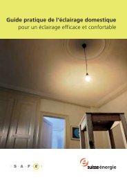 Guide pratique de l'éclairage domestique pour un ... - toplicht.ch
