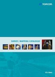 Survey / Mapping CaTaLOgue - ToppTopo A/S
