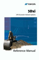 3Dxi Reference Manual -- Front, What's New, Ch1-2 - ToppTopo A/S