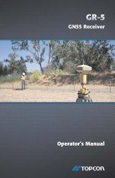 GR-5 Operator's Manual - ToppTopo A/S