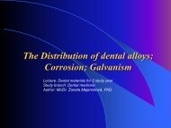 The Distribution of dental alloys - TOP Recommended Websites