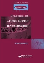 The Practice of Crime Scene Investigation - TOP Recommended ...