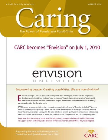 Summer 2010 - Envision Unlimited
