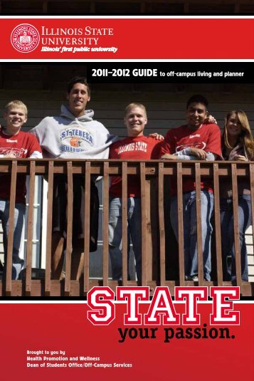 2011–2012 GUIDE to off-campus living and planner - Dean of ...