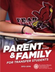 for transfer students - Dean of Students - Illinois State University