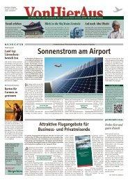 Sonnenstrom am Airport - Düsseldorf