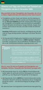 Neue EU-Regelungen zur Luftsicherheit! - Seite 2