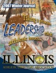 2007 Winter Newsletter - Illinois Athletic Directors Association