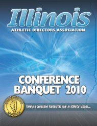 2010 Hall of Fame - Illinois Athletic Directors Association