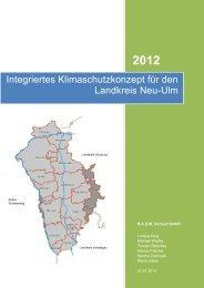 Integriertes Klimaschutzkonzept für den Landkreis Neu-Ulm