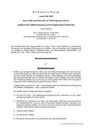 Übertragung einzelner Aufgaben der Abfallentsorgung an ...