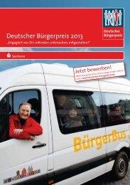 Deutscher Bürgerpreis 2013 - Landkreis Neu-Ulm