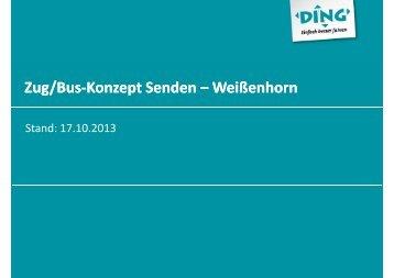 Zug/Bus-Konzept Senden Konzept Senden – Weißenhorn ...