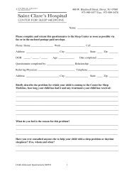 Medical-sleep history questionnaire child-adolescent versi…