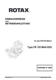 EINBAUHINWEISE BETRIEBSANLEITUNG Type FR 125 MAX-DD2