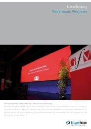PDF Produktblatt Konferenz - BLUETRAC