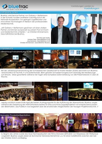 PDF Newsletter Juni 2011 - BLUETRAC