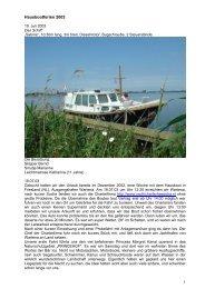 1 Hausbootferien 2003 - Cruiseferry.de