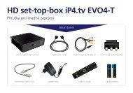 HD set-top-box iP4.tv EVO4-T - O2 TV