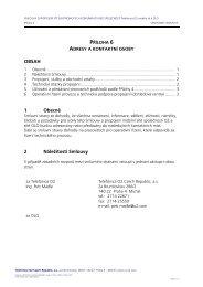 OBSAH 1 Obecně 2 Náležitosti Smlouvy - O2