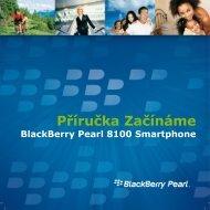 BlackBerry Pearl 8100 Smartphone - Příručka Začínáme - O2