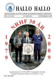 forside endelig spørsmålstegn.indd - Norsk Radiohistorisk Forening