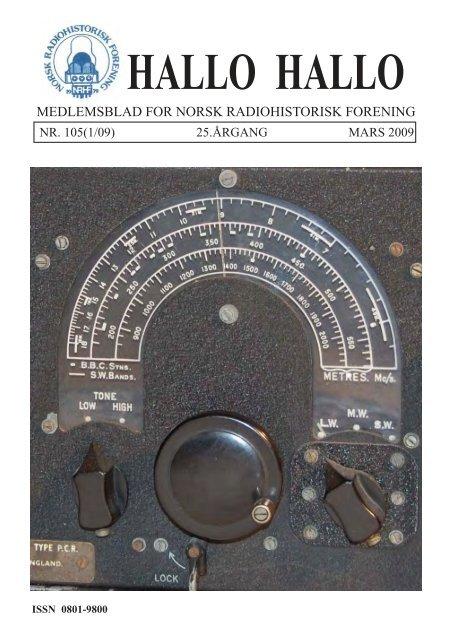 Tandberg - Norsk Radiohistorisk Forening