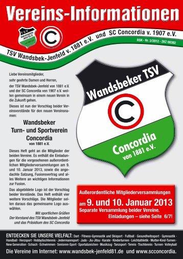 am 9. und 10. Januar 2013 - TSV Wandsbek-Jenfeld, Supersenioren