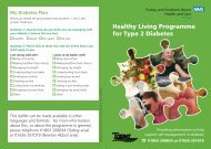 Healthy Living Programme for Type 2 Diabetes - Torbay Care Trust
