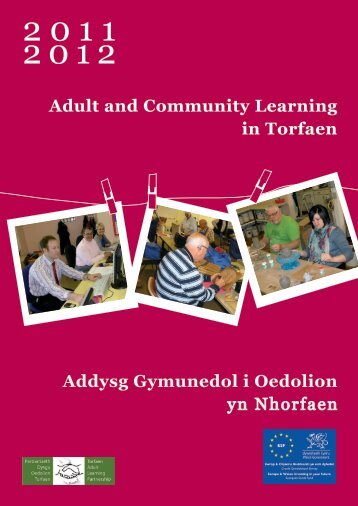 Adult and Community Learning in Torfaen - Torfaen Family ...