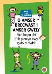 O Amser Brecwast i Amser Gwely (PDF.doc 2MB ffenestr newydd)