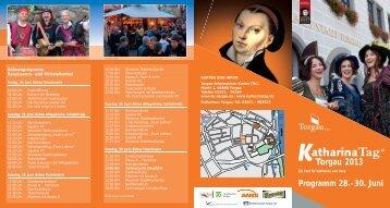 Programm 28.-30. Juni Torgau 2013