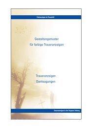 Traueranzeigen Danksagungen ... - Torgauer Zeitung