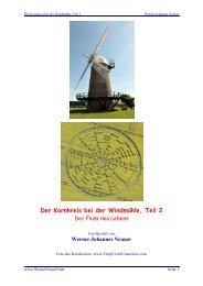 Der Kornkreis bei der Windmühle, Teil 2 - Horst Weyrich